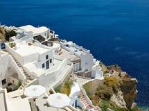 Witte terrassen Royalty-vrije Stock Afbeelding