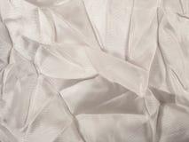 Witte textiel stock afbeelding