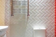 Witte toiletkom royalty-vrije stock foto's