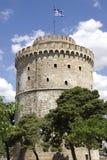 Witte toren in Thessaloniki royalty-vrije stock fotografie