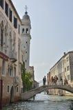 Witte toren Venetië Stock Foto's