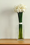 Witte Uitstekende Bloem Royalty-vrije Stock Afbeelding
