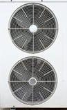 Witte ventilator van airconditioners Stock Foto's
