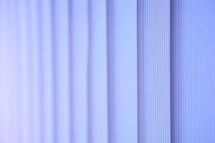 Witte verticale zonneblinden Royalty-vrije Stock Foto's