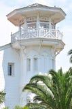 Witte villa Royalty-vrije Stock Fotografie