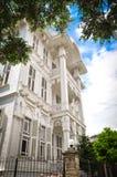 Witte villa Stock Afbeelding