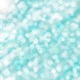 Witte vlekken op blauwe achtergrond Stock Foto's