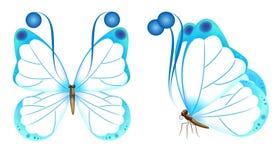 Witte Vlinder Royalty-vrije Stock Afbeeldingen