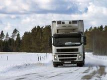 witte vrachtwagen Royalty-vrije Stock Fotografie