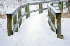 Witte weg Stock Afbeelding
