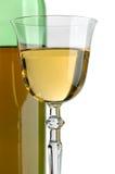 Witte wijn Stock Afbeelding