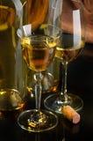 Witte wijn Royalty-vrije Stock Foto