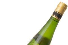 Witte Wijn met Condensatie Stock Fotografie