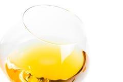 Witte wijnglazen met ruimte voor tekst Royalty-vrije Stock Afbeelding