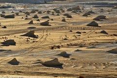 Witte woestijn royalty-vrije stock afbeeldingen