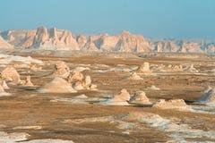 Witte woestijn Royalty-vrije Stock Foto's
