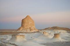 Witte Woestijn - Egypte stock afbeelding