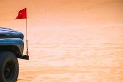 Witte Woestijn in Mui Ne Stock Foto