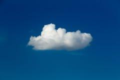 Witte wolk Royalty-vrije Stock Foto