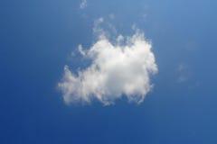 Witte wolk Stock Afbeeldingen