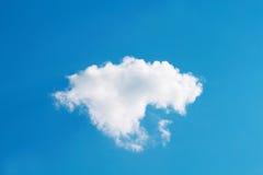 Witte wolk en blauwe hemel Stock Fotografie