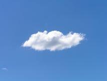 Witte wolken blauwe hemel Stock Afbeelding