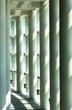 Witte zaal Stock Foto