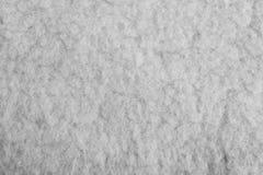 Witte zachte woloppervlakte als achtergrond Abstracte witte textuur royalty-vrije stock afbeeldingen