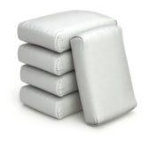 Witte zakken Royalty-vrije Stock Afbeeldingen