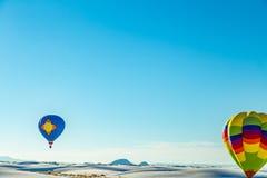 Witte Zandballon 2016 Voor genodigden Royalty-vrije Stock Afbeeldingen