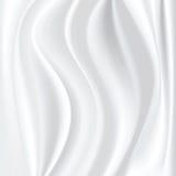 Witte zijde Royalty-vrije Stock Afbeeldingen