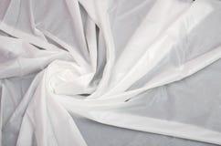 Witte zijde Royalty-vrije Stock Fotografie