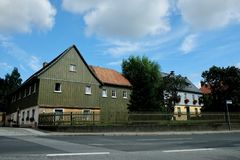 Wittenberg, de Reis Europa van Herrnhut Duitsland stock fotografie