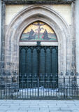 Wittenberg - The famous door at the All saint`s church where Martin Luther nailed the 95 theses Stock Photo