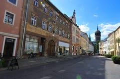 Wittenberg Straße Lizenzfreie Stockfotografie