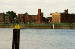 Wittenberge Hafen IV Lizenzfreies Stockbild