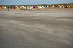 Wittering-Sande Stockbild