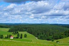Witthoh kulle i Tyskland Arkivbild