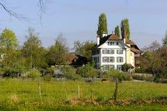 Wittigkofen城堡,伯尔尼,瑞士 免版税库存照片