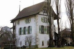 Wittigkofen Palace, Bern Stock Image