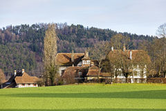 Wittigkofen Palace in Bern, Switzerland Royalty Free Stock Photos