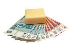 Witwassen van geld Stock Afbeelding