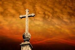 święty krzyż Obraz Royalty Free