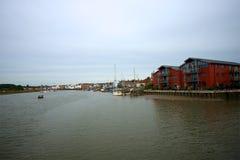 Wivenhoe, Essex, Великобритания Стоковая Фотография RF