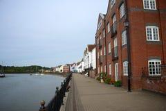 Wivenhoe Essex, UK Arkivfoton