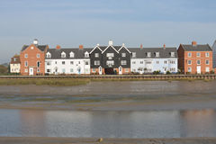 Wivenhoe over River Colne Royalty Free Stock Photos