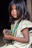 Wiwa Indian Girl Royalty Free Stock Images