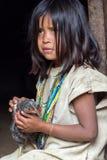 Wiwa Indian Girl Royalty Free Stock Images