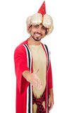 Wizard in costume Royalty Free Stock Images