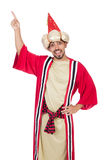 Wizard in costume Royalty Free Stock Photos